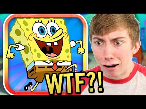 Get WTF SPONGEBOB?! - Underwater World Rush: Spongebob HD Edition (iPad Gameplay Video) Screenshots