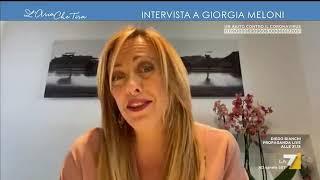 """Emergenza Coronavirus, L'allarme Di Giorgia Meloni: """"tra Un Po' Negli Scaffali Dei Supermercati ..."""