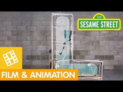 Sesame Street: Rube Goldberg Letter L