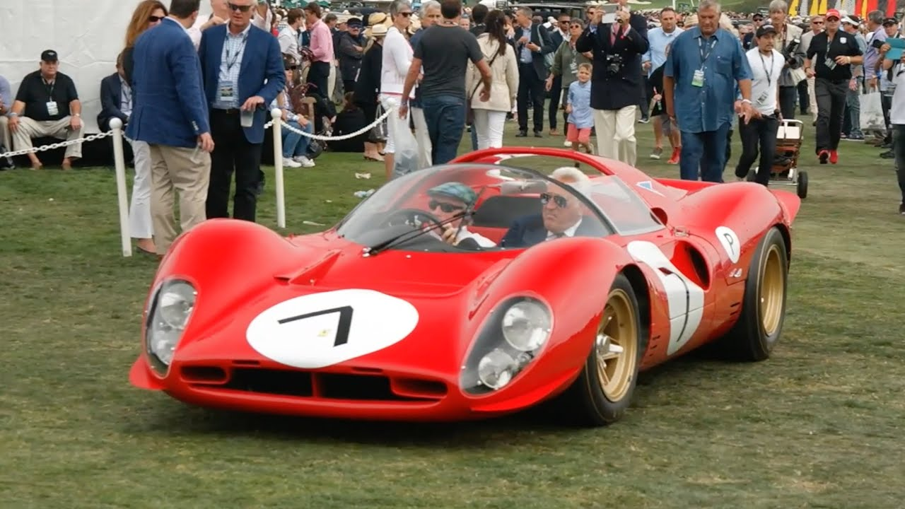 Pebble Beach Concours DElegance YouTube - Pebble beach car show ticket prices