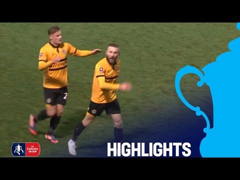 Unbelievable Butler Goal Caps off Win! Newport 4-0 Wrexham | R2 | Emirates FA Cup 2018/19
