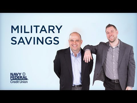 Let's Talk Military Savings