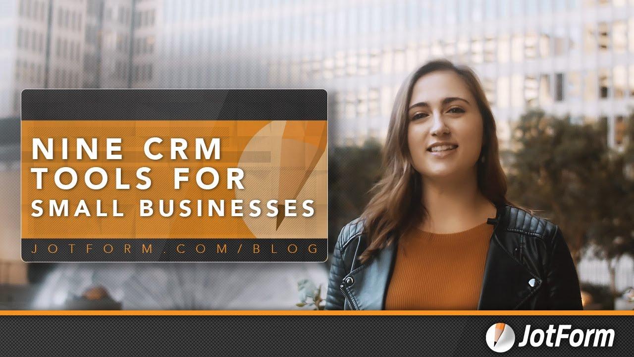 CRM Tools for Small Businesses - JotForm Integrations