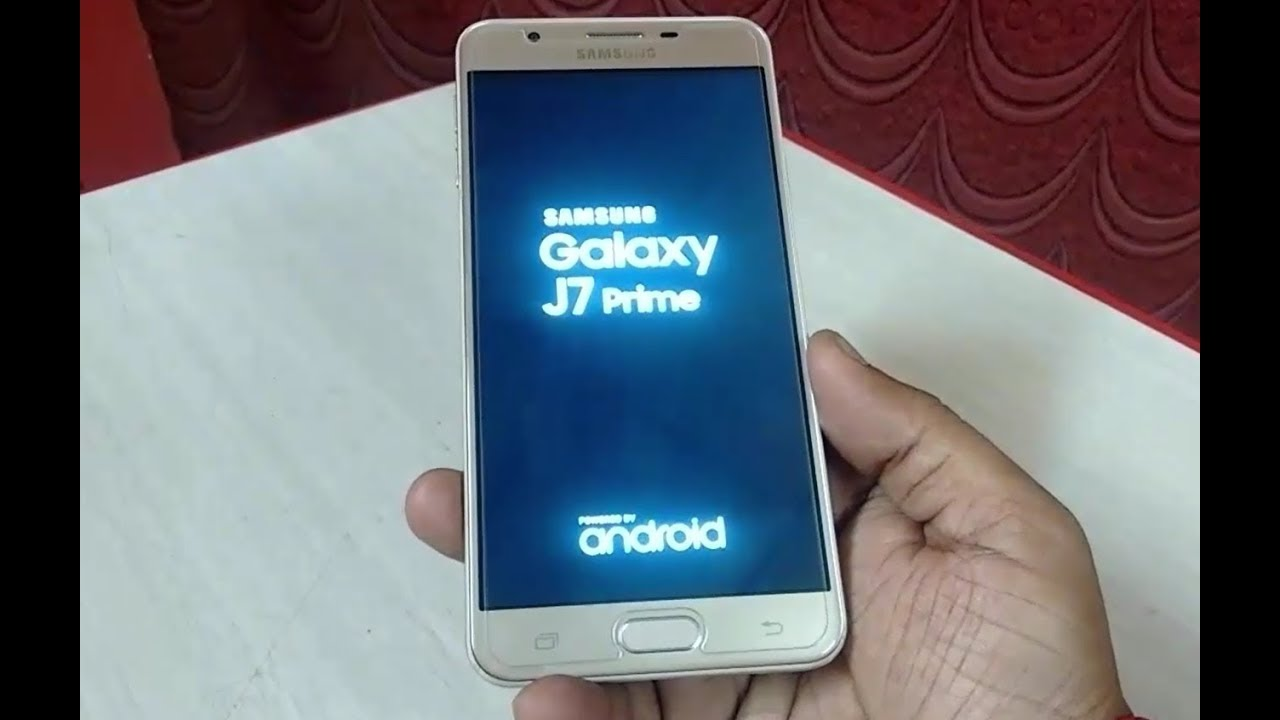 0ffc119929 How to Update Android 7.0 Nougat to Samsung Galaxy J7 Prime - YouTube