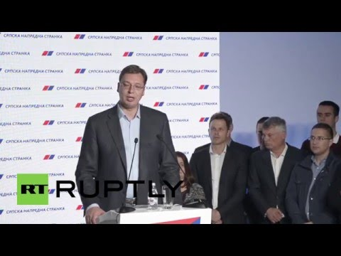 Serbia: Vucic's Progressive Party claims victory in general election