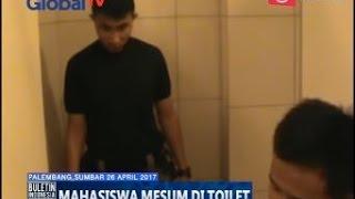 [Tertangkap Basah] Sepasang Mahasiswa Mesum di Toilet Masjid Raya Padang - BIM 26/04
