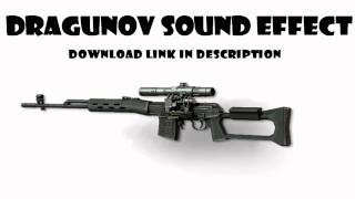 HD MW3 Dragunov Sniper Rifle MP3 Sound Effect