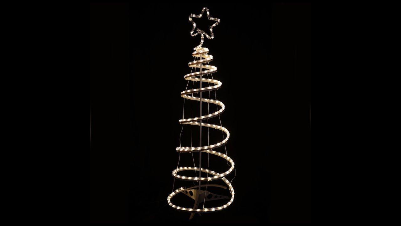 Warm White Spiral Tree Rope Light Xs2916