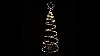Warm White Spiral Tree Rope Light (XS2916)
