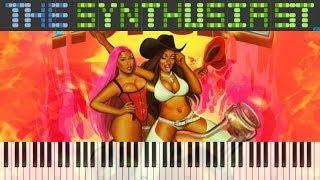 Megan Thee Stallion (feat. Nicki Minaj & Ty Dolla $ign) - Hot Girl Summer - Piano Synthesia