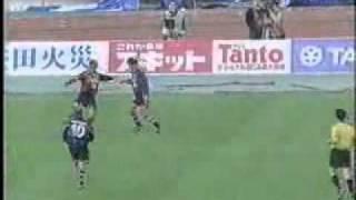 J-League 2nd Stage 2000 23 November - 15° round: Gamba Osaka 1x2 Ka...