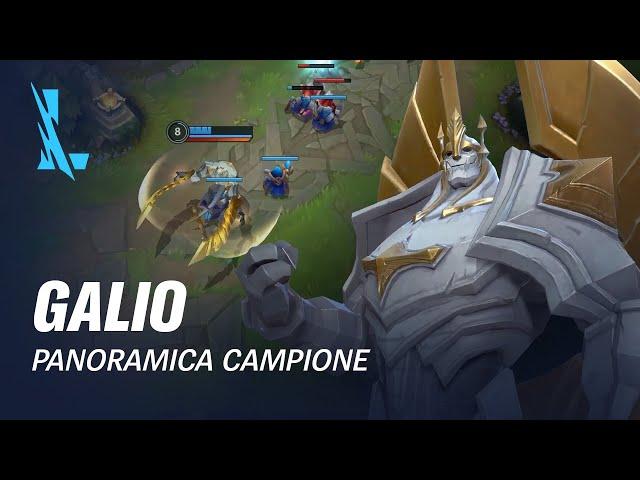 Panoramica campione Galio | Gameplay - League of Legends: Wild Rift