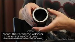 How to Install the EnCinema iPhone SLR Lens Adapter