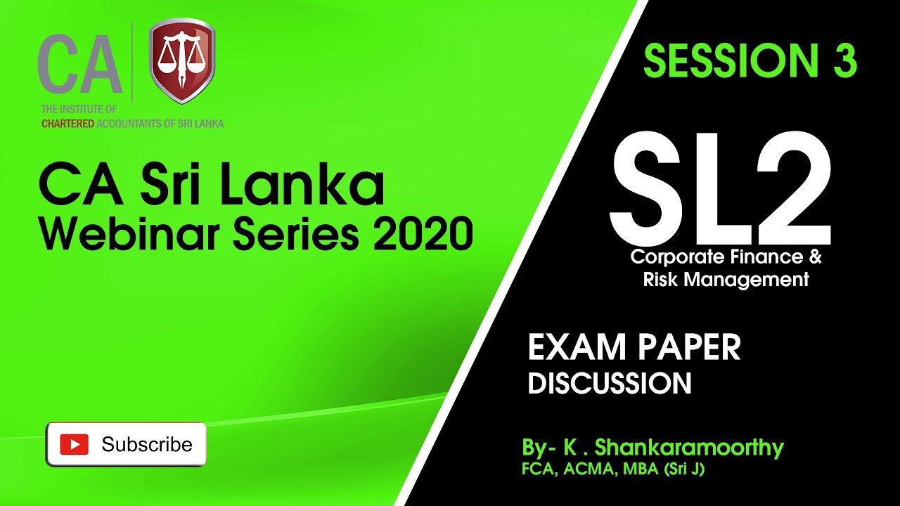 SL2   2 Mar 2021 Session 03