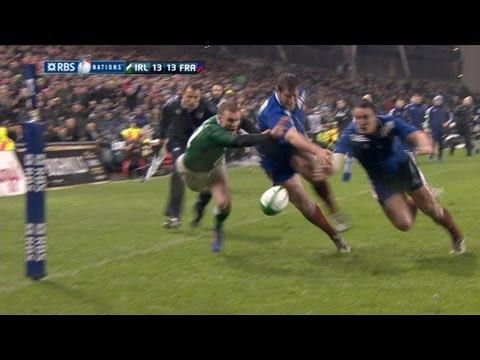 Ireland v France Full Match Highlights 09 March 2013