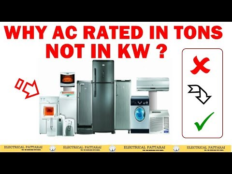 Why AC rated in Tons, Not in kW?