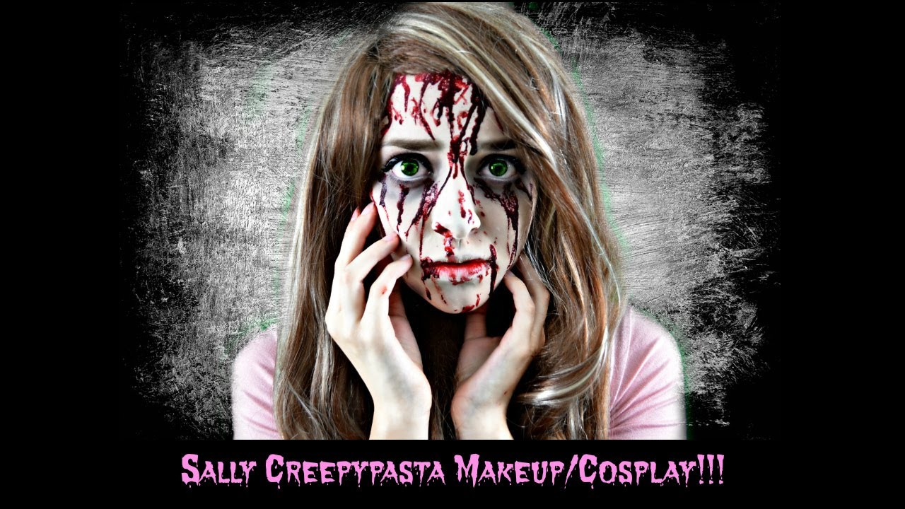 how to draw sally creepypasta