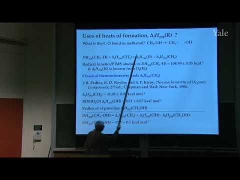 32. Measuring Bond Energies: Guest Lecture by Prof. G. Barney Ellison