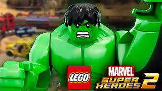 ХАЛК КРУШИТЬ | LEGO MARVEL SUPER HEROES 2 | Часть 11 | веселая игра как мультик от канала ЖЕСТЯНКА