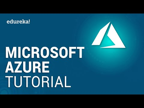 Microsoft Azure Tutorial For Beginners | Microsoft Azure Training | Edureka