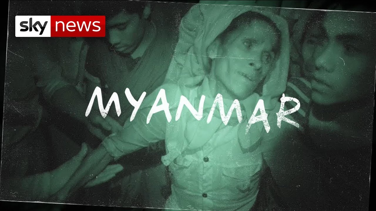 Rohingya babies dumped and left to die in Myanmar crisis.