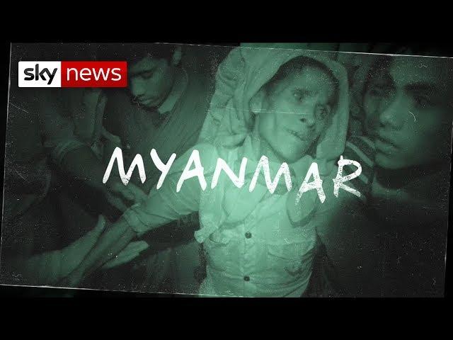 Rohingya babies dumped and left to die in Myanmar crisis.