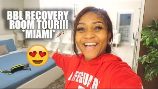 BBL RECOVERY ROOM TOUR *MIAMI*