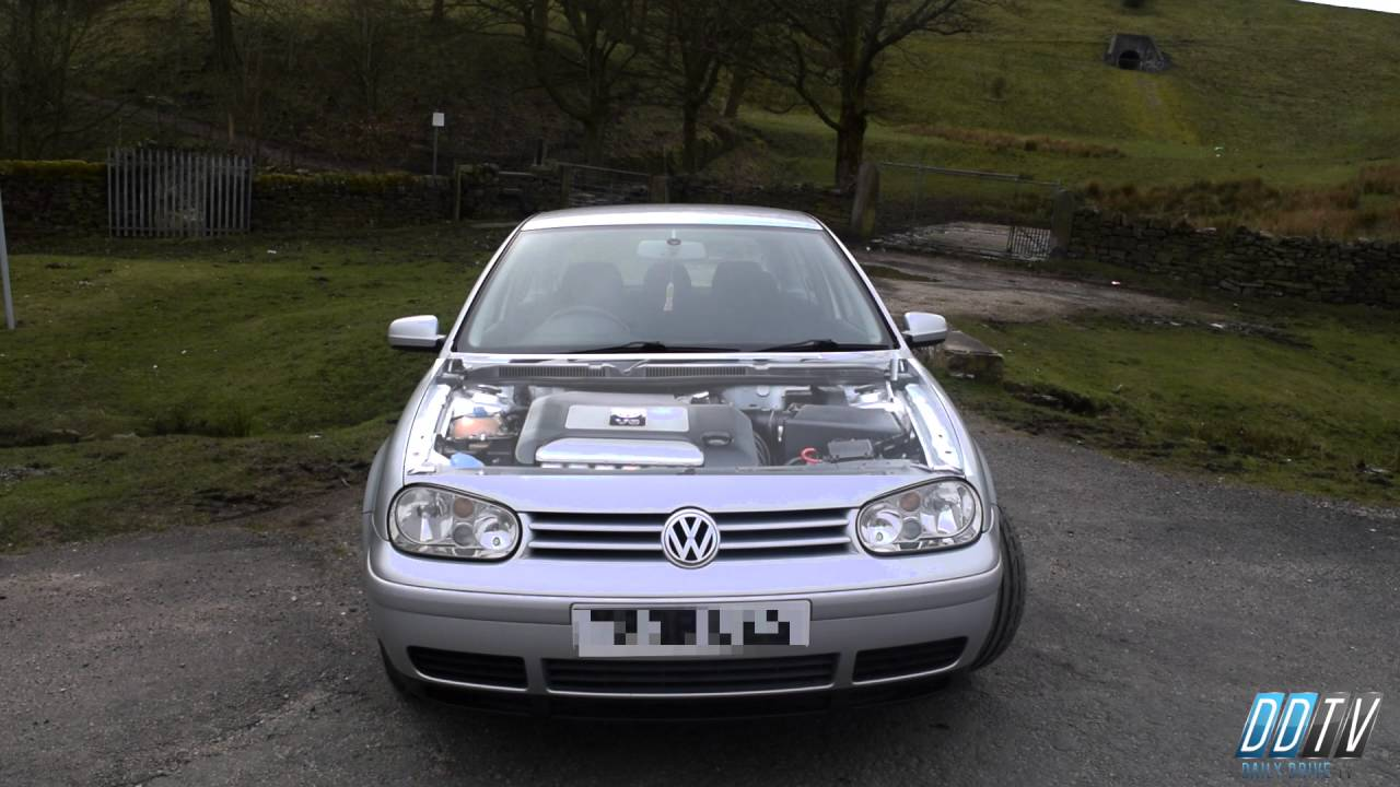 volkswagen golf 2 8 v6 4motion 204 bhp stock engine and exhaust sound youtube. Black Bedroom Furniture Sets. Home Design Ideas