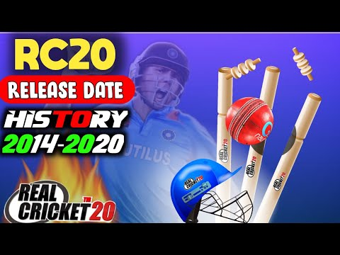 🔥 Real Cricket 20 Release Date , Why Only Multiplayer ? Full History 2014 To 2020 !!