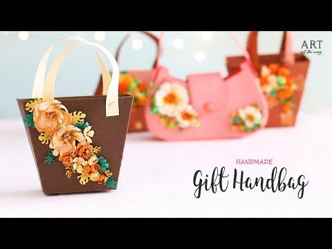 DIY Gift Handbag | Paper Gift Bag | Ventunoart