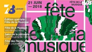 7/8 Loisirs – spéciale 'Fête de la musique' du vendredi 15 juin 2018