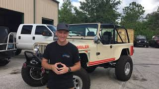 Cutting a BRAND NEW Jeep JL in half! Bruiser Conversions SEMA 2018 Build, Day 2