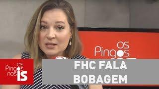 FHC fala bobagem sobre Bolsonaro. Ele é um péssimo analista político