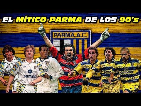 El MÍTICO PARMA de los 90's 🏆 (Buffon, Asprilla, Verón, Cannavaro, Brolin, Zola, Hernán Crespo...)