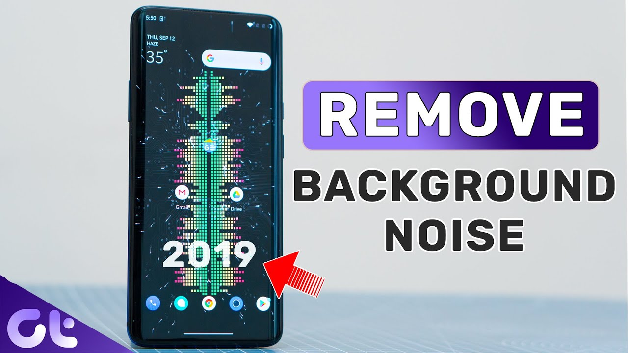 How To Remove Background Noise From Video On Android Without Pc 2019 Guiding Tech Youtube