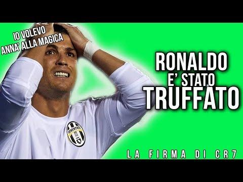 RONALDO alla JUVENTUS   CR7 È STATO TRUFFATO!! 