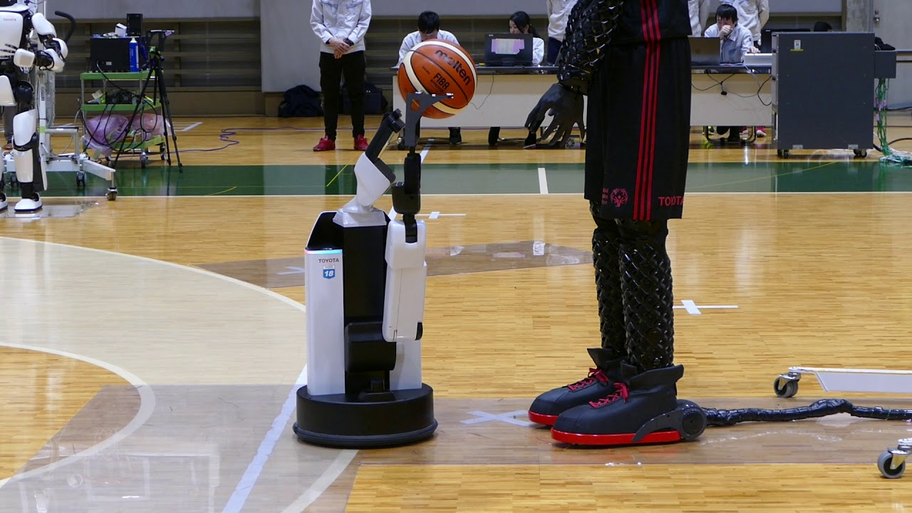 video friday this toyota basketball robot shoots 3 pointers better than you ieee spectrum [ 1280 x 720 Pixel ]