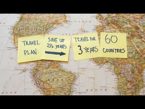 Guy quits his job and travel 60 countries in 3 years