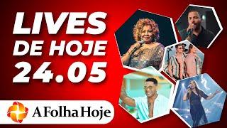 Lives De Hoje  Domingo 24/05/2020  - Ao Vivo - Live Dos Famosos