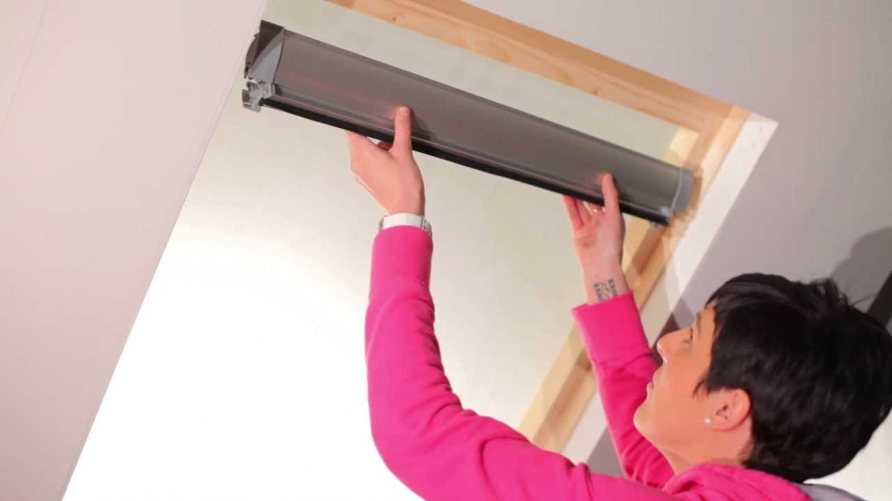 Velux Blinds How To Fit Our Blinds For Velux Windows In 3 Minutes Or Less
