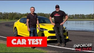 Enforcer and the Dude - Car Review: KIA Stinger - Russell Ingall & Paul Morris