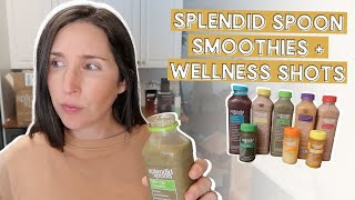 Splendid Spoon Smoothie Review: Smoothies + Wellness Shots Taste Tested