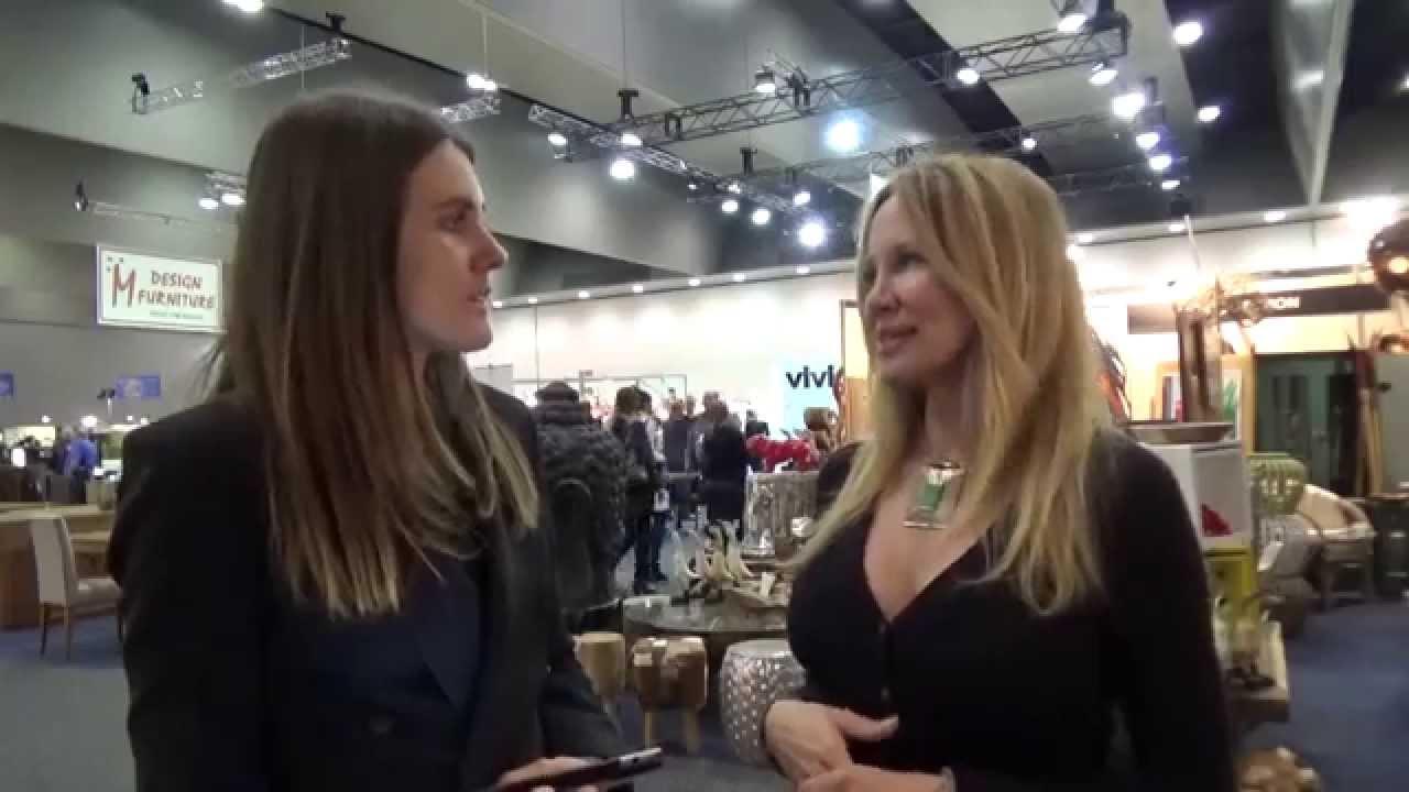 Celebrity Interior Designer, Kari Whitman At Decor + Design 2014