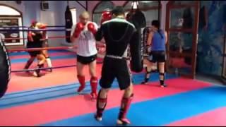 Gambar cover Topic Team, zagrevanje pred sparing.