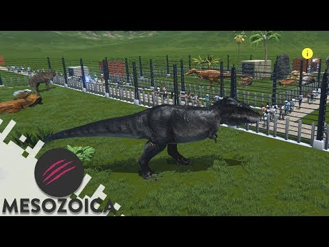 MY OWN DINOSAUR THEME PARK - MESOZOICA (Gameplay)
