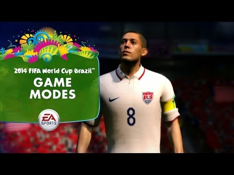 EA SPORTS 2014 FIFA World Cup Gameplay Series  Game Modes