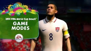 EA SPORTS 2014 FIFA World Cup Gameplay Series - Game Modes