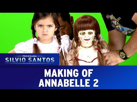 Annabelle 2 - Annabelle Creation Prank - Making of | Câmeras Escondidas