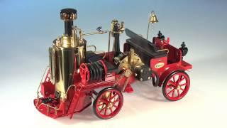 Wilesco D305 Dampf-Feuerwehr - Dampfmaschine
