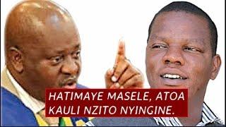 Habari kubwa leo! Hatimaye Masele, Atoa kauli Nyingine nzito kuhusu Ugomvi wake na Spika.